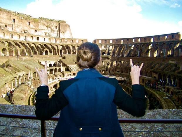 Hook 'Em in Rome