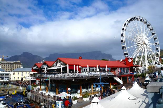 The Cape Wheel in Cape Town, South Africa.