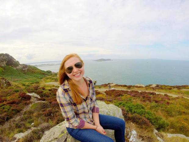 At the Coastal Cliffs!