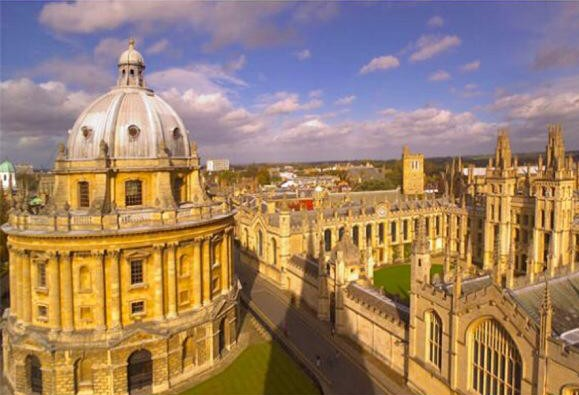 Oxford University in England.